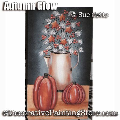 Autumn Glow ePattern - Sue Getto - PDF DOWNLOAD