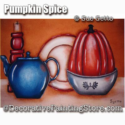 Pumpkin Spice ePattern - Sue Getto - PDF DOWNLOAD
