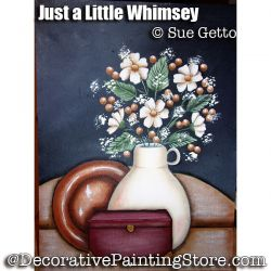 Just a Little Whimsey ePattern - Sue Getto - PDF DOWNLOAD
