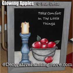 Glowing Apples ePattern - Sue Getto - PDF DOWNLOAD