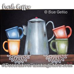 Fresh Coffee ePattern - Sue Getto - PDF DOWNLOAD