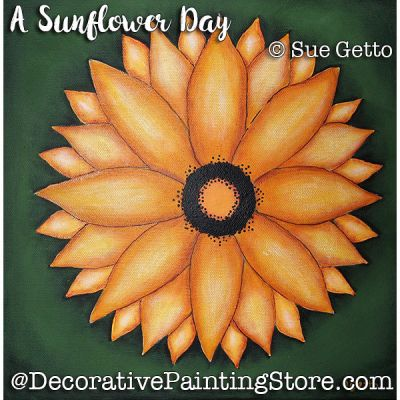 A Sunflower Day ePattern - Sue Getto - PDF DOWNLOAD