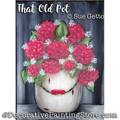 That Old Pot ePattern - Sue Getto - PDF DOWNLOAD
