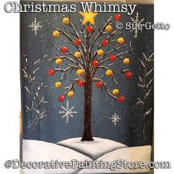 Christmas Whimsy DOWNLOAD- Sue Getto