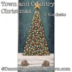 Town and Country Christmas DOWNLOAD- Sue Getto