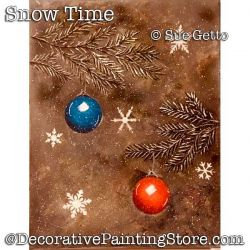Christmas Snow DOWNLOAD- Sue Getto