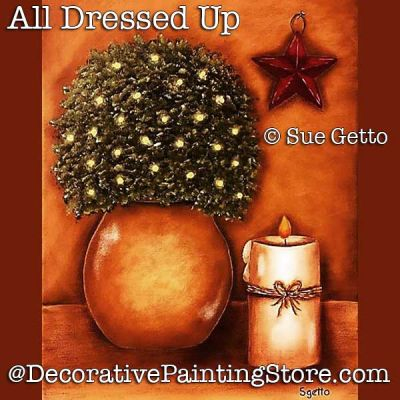All Dressed Up Still Life DOWNLOAD Painting Pattern - Sue Getto
