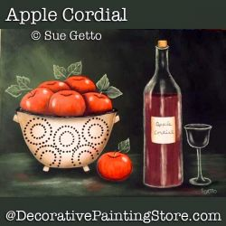 Apple Cordial Still Life DOWNLOAD Painting Pattern - Sue Getto