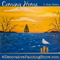 Coming Home DOWNLOAD Painting Pattern - Sue Getto