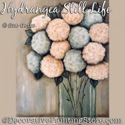 Hydrangea Still Life DOWNLOAD Painting Pattern - Sue Getto