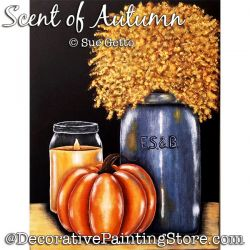 Scent of Autumn DOWNLOAD Painting Pattern - Sue Getto