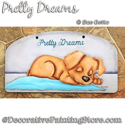 Pretty Dreams DOWNLOAD Painting Pattern - Sue Getto