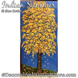 Indian Summer DOWNLOAD Painting Pattern - Sue Getto