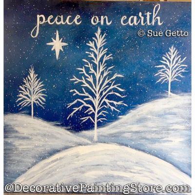 Peace on Earth PDF DOWNLOAD Painting Pattern - Sue Getto