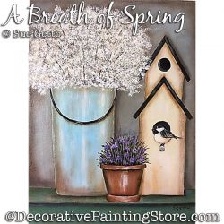 A Breath of Spring PDF DOWNLOAD Painting Pattern - Sue Getto