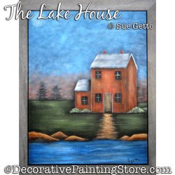 The Lake House Painting Pattern PDF DOWNLOAD - Sue Getto