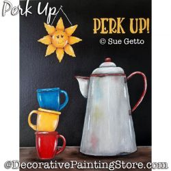 Perk Up Painting Pattern PDF DOWNLOAD - Sue Getto