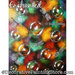 Enchanted Painting Pattern PDF DOWNLOAD - Sue Getto