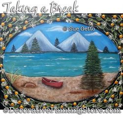 Taking a Break Painting Pattern PDF DOWNLOAD - Sue Getto