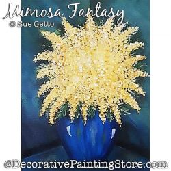 Mimosa Fantasy Painting Pattern PDF DOWNLOAD - Sue Getto