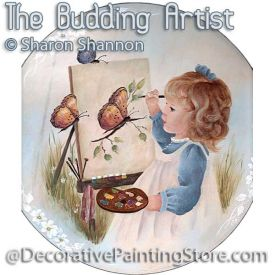Budding Artist ePattern - Sharon Shannon - PDF DOWNLOAD