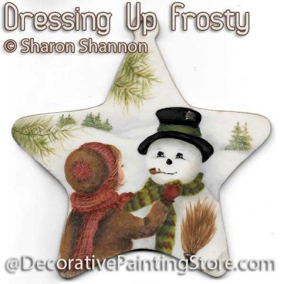 Dressing Up Frosty ePattern - Sharon Shannon - PDF DOWNLOAD
