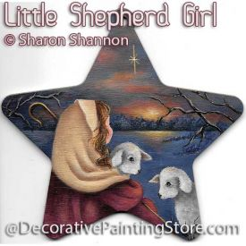 Little Shepherd Girl ePattern - Sharon Shannon - PDF DOWNLOAD