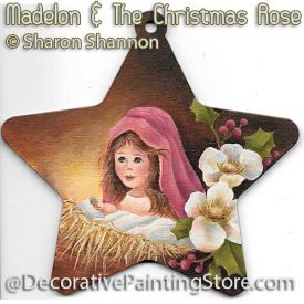 Madelon and the Christmas Rose ePattern - Sharon Shannon - PDF DOWNLOAD