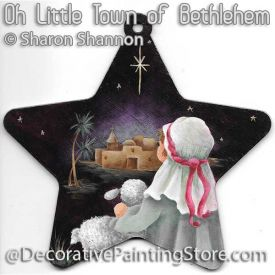 Oh Little Town of Bethlehem ePattern - Sharon Shannon - PDF DOWNLOAD