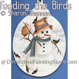 Feeding the Birds ePattern - Sharon Shannon - PDF DOWNLOAD