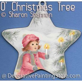 O Christmas Tree ePattern - Sharon Shannon - PDF DOWNLOAD