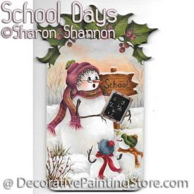 School Days ePattern - Sharon Shannon - PDF DOWNLOAD