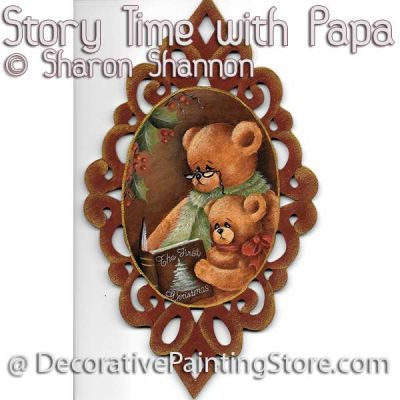 Story Time with Papa ePattern - Sharon Shannon - PDF DOWNLOAD