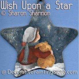 Wish Upon a Star ePattern - Sharon Shannon - PDF DOWNLOAD