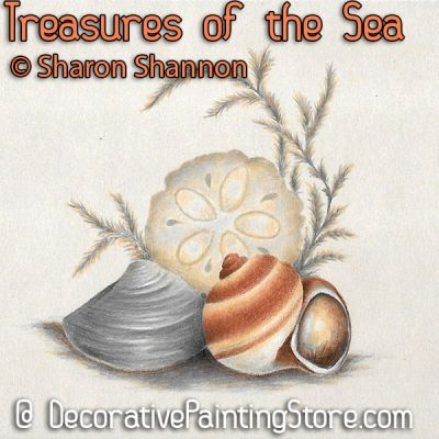 Treasures of the Sea ePattern - Sharon Shannon - PDF DOWNLOAD