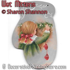 Wet Mittens ePattern - Sharon Shannon - PDF DOWNLOAD