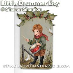 Little Drummer Boy ePattern - Sharon Shannon - PDF DOWNLOAD