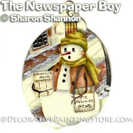 The Newspaper Boy ePattern - Sharon Shannon - PDF DOWNLOAD
