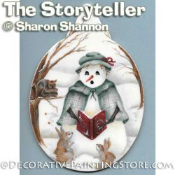 The Storyteller ePattern - Sharon Shannon - PDF DOWNLOAD