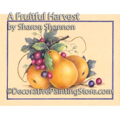 A Fruitful Harvest ePattern - Sharon Shannon - PDF DOWNLOAD
