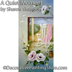 A Quiet Moment ePattern - Sharon Shannon - PDF DOWNLOAD