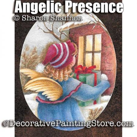 Angelic Presence Colored Pencil ePattern - Sharon Shannon - PDF DOWNLOAD