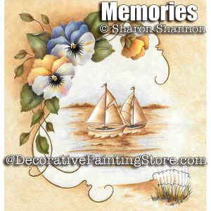 Memories Colored Pencil ePattern - Sharon Shannon - PDF DOWNLOAD