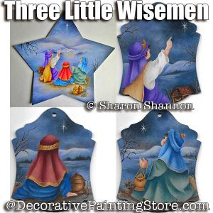 Three Little Wisemen ePattern - Sharon Shannon - PDF DOWNLOAD