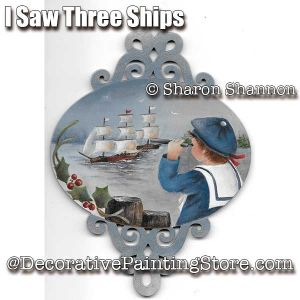 I Saw Three Ships ePattern - Sharon Shannon - PDF DOWNLOAD