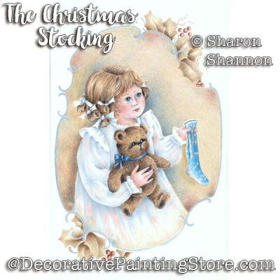 The Christmas Stocking ePattern - Sharon Shannon - PDF DOWNLOAD