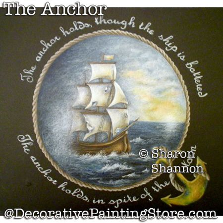The Anchor (Colored Pencil) DOWNLOAD - Sharon Shannon