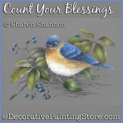 Count Your Blessings (Blue bird and Berries) DOWNLOAD - Sharon Shannon