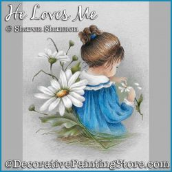 He Loves Me (Girl and daisies) DOWNLOAD - Sharon Shannon