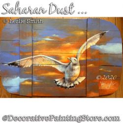 Saharan Dust (Seagull) Painting Pattern PDF DOWNLOAD - Leslie Smith